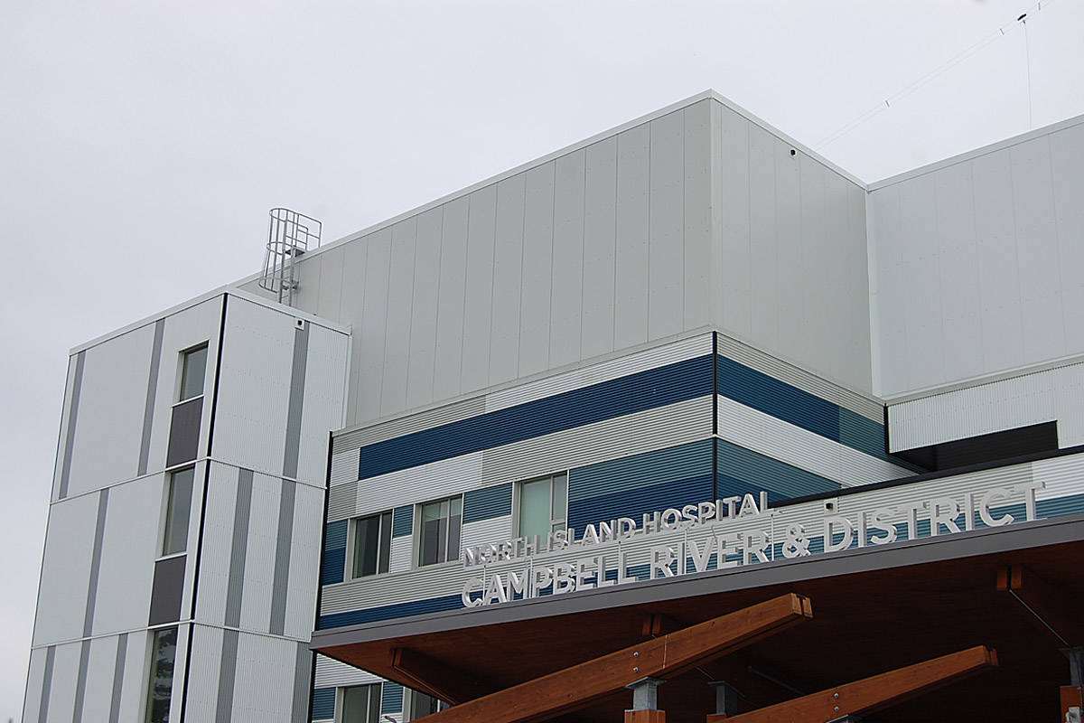 Campbell River's new hospital, July 2018